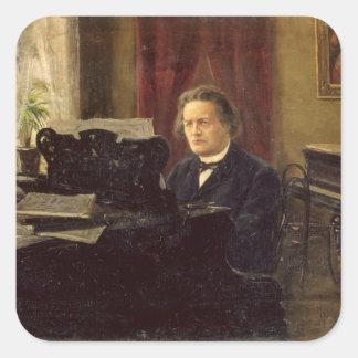 Portrait of Composer Anton Rubinstein Stickers