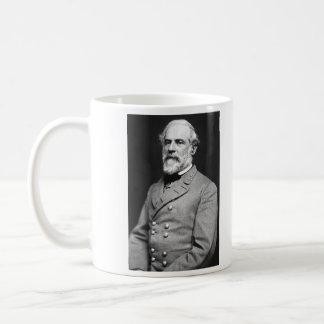 Portrait of Confederate General Robert E. Lee Basic White Mug