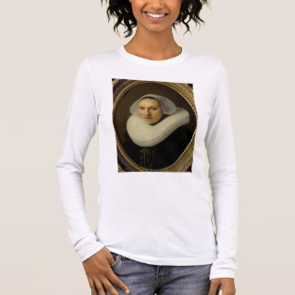 Portrait of Cornelia Pronck, Wife of Albert Cuyper Long Sleeve T-Shirt