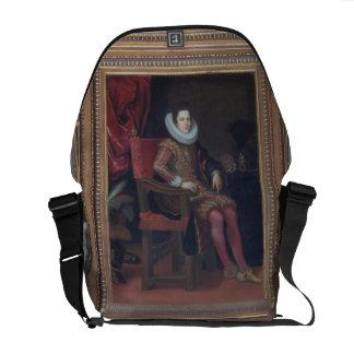 Portrait of Cosimo II de'Medici (1590-1621) (oil o Messenger Bag