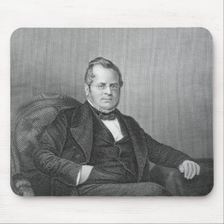 Portrait of Count Camillo Berso of Cavour Mouse Pad