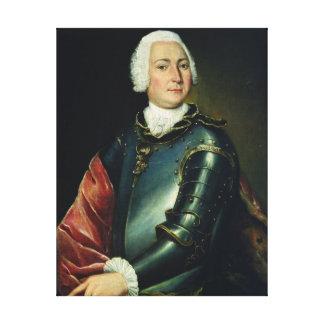 Portrait of Count Ernst Christoph von Manteuffel Canvas Print