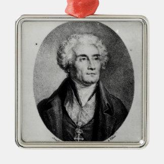 Portrait of Count Joseph de Maistre Christmas Ornament