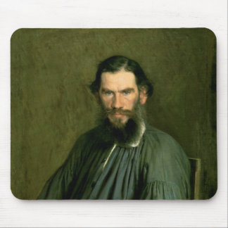 Portrait of Count Lev Nikolaevich Tolstoy  1873 Mouse Mat