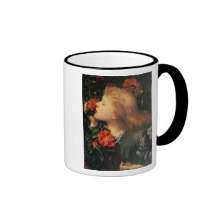 Portrait of Dame Ellen Terry  c.1864 Ringer Mug