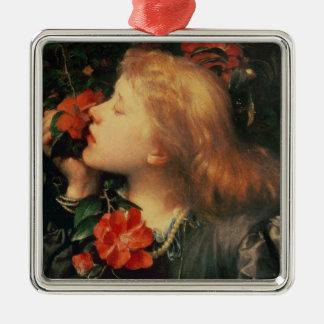 Portrait of Dame Ellen Terry  c.1864 Silver-Colored Square Decoration