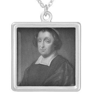 Portrait of David Beaton Silver Plated Necklace