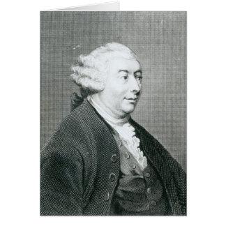 Portrait of David Hume Card