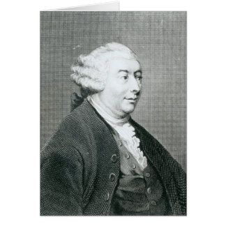 Portrait of David Hume Greeting Card