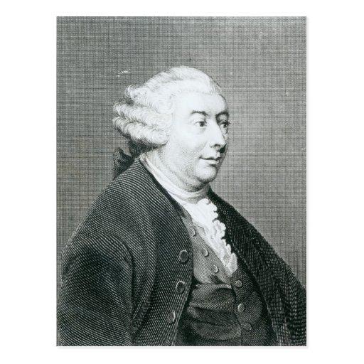 Portrait of David Hume Postcard