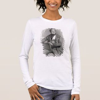 Portrait of David Roberts (1796-1864) frontispiece Long Sleeve T-Shirt