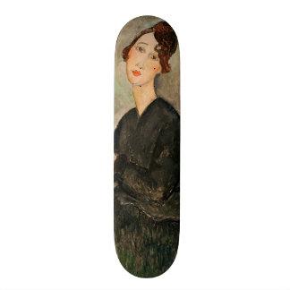 Portrait of Dedie Hayden, 1918 20.6 Cm Skateboard Deck