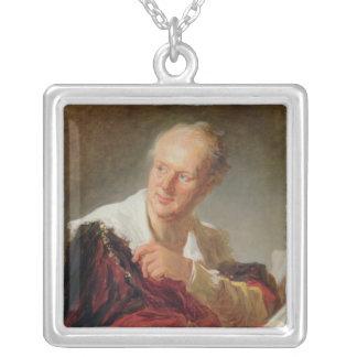 Portrait of Denis Diderot  c.1769 Pendants