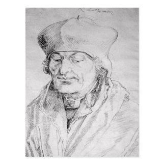 Portrait of Desiderius Erasmus  1520 Postcard