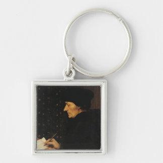 Portrait of Desiderius Erasmus Key Ring