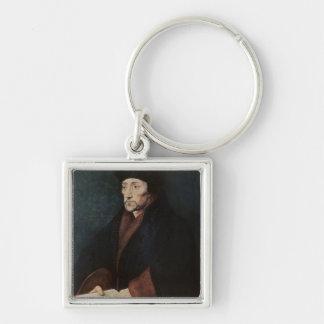 Portrait of Desiderius Erasmus  of Rotterdam Key Ring