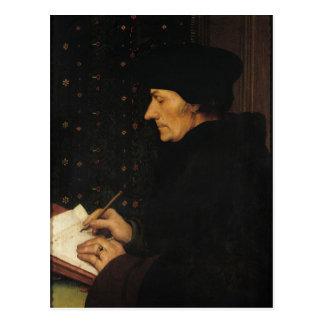 Portrait of Desiderius Erasmus Postcard