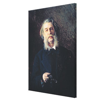 Portrait of Dmitri Vasilievich Grigorovich Canvas Print