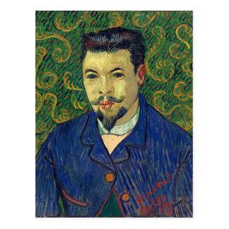 Portrait of Doctor Felix Rey, Van Gogh Fine Art Postcard