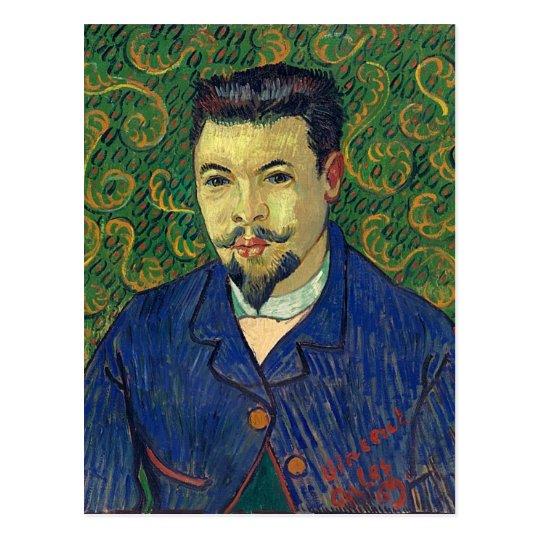 Portrait of Doctor Felix Rey, Van Gogh Fine