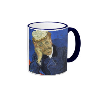 Portrait of Doctor Gachet by Van Gogh Coffee Mugs