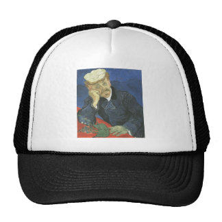 Portrait Of Doctor Paul Gachet Mesh Hats