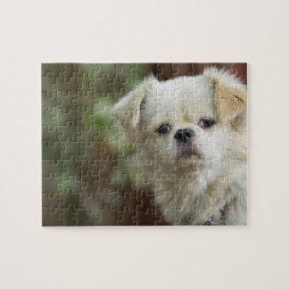 Portrait of Dog 2 Jigsaw Puzzle