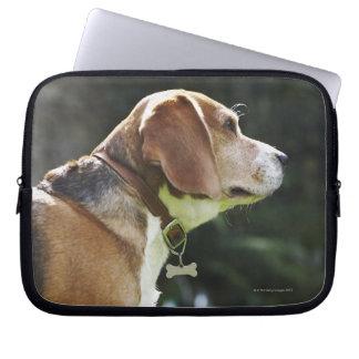 Portrait of Dog Laptop Computer Sleeve