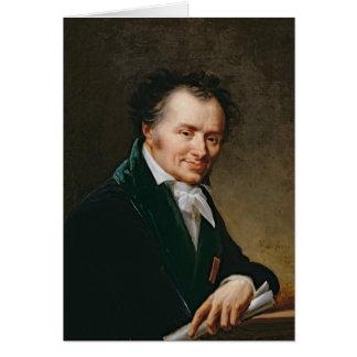 Portrait of Dominique Vivant  Baron Denon, 1808 Card