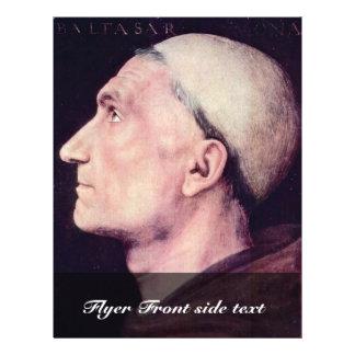 Portrait Of Don Baldassare Di Antonio Di Angelo 21.5 Cm X 28 Cm Flyer
