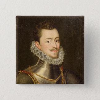 Portrait of Don John of Austria 15 Cm Square Badge