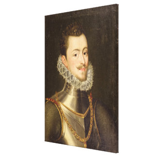 Portrait of Don John of Austria Canvas Print