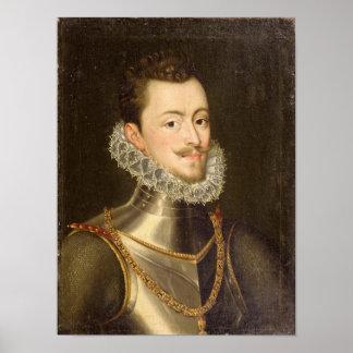 Portrait of Don John of Austria Poster