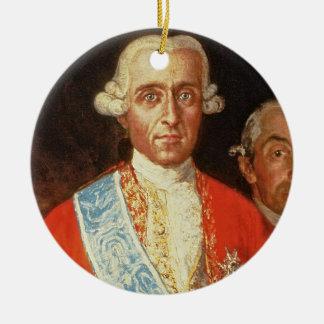 Portrait of Don Jose Monino y Redondo I Christmas Ornament