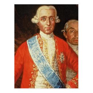 Portrait of Don Jose Monino y Redondo I Postcard