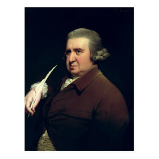 Portrait of Dr Erasmus Darwin Postcard