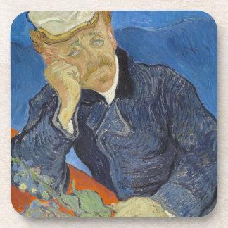 Portrait of Dr Gachet by Vincent Van Gogh Coasters