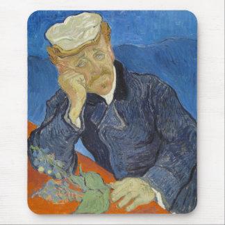 Portrait of Dr Gachet by Vincent Van Gogh Mousepad