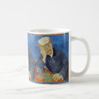 Portrait of Dr Gachet by Vincent Van Gogh Mugs