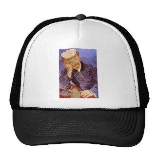 Portrait of Dr Gachet by Vincent Willem van Gogh Trucker Hats