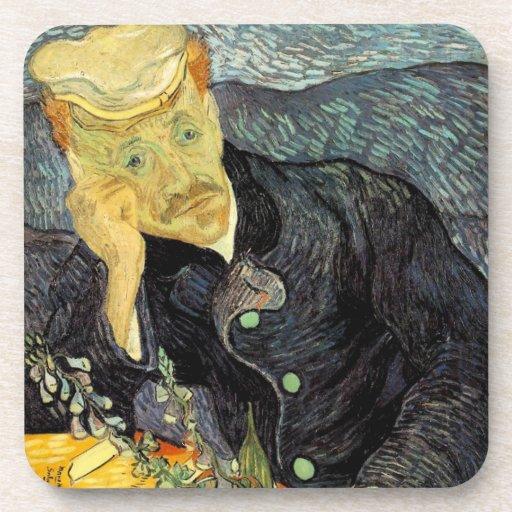 Portrait of Dr. Gachet - Cork Coaster