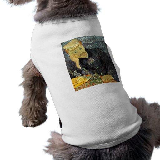 Portrait of Dr. Gachet Doggie T Shirt