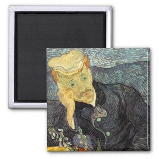 Portrait of Dr Gachet Fridge Magnet