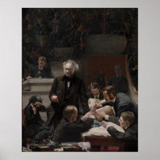Portrait of Dr. Samuel D. Gross by Thomas Eakins Poster