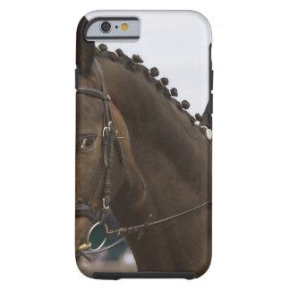 portrait of dressage horse tough iPhone 6 case