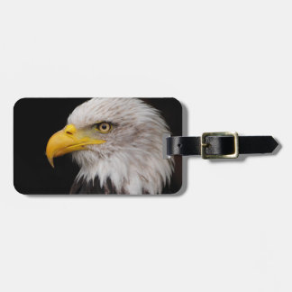 Portrait of eagle luggage tag