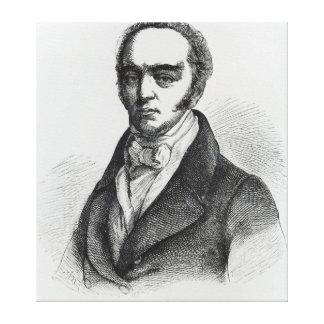 Portrait of Earl Grey Canvas Print