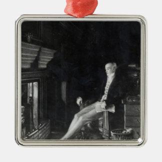 Portrait of Earl Grey Christmas Ornament