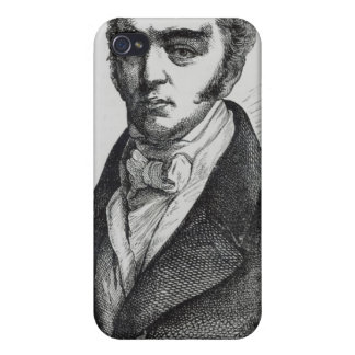 Portrait of Earl Grey iPhone 4/4S Cases