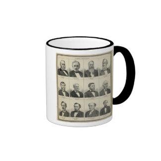Portrait of Early Settler Morrison, Minnesota Mugs
